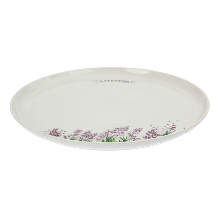 Сервиз столовый «Лаванда», 36 предметов, 2 вида тарелок - фото 389807978