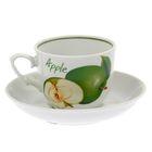 """Чайная пара 250 мл """"Кирмаш. Зеленое яблоко"""""""