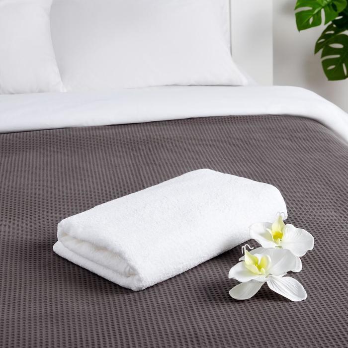 """Полотенце махровое """"Этель"""" Hotel 70х140 см, 100% хлопок, 500 г/м²"""