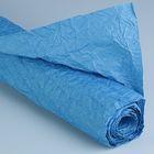 """Бумага для декорирования """"Де люкс"""", жатая, синяя, 0,7 х 5 м"""