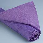 """Бумага для декорирования """"Де люкс"""", жатая, тёмно-фиолетовая, 0,7 х 5 м"""