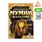 Квест игра книга «Похищение мумии Фараона», 22 страницы