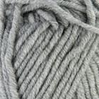 """Пряжа """"Lanagold plus"""" 49% шерсть, 51% акрил 140м/100гр (21 серый)"""