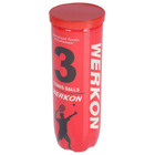 Ball for tennis WERKON 989, with pressure (set 3 PCs)
