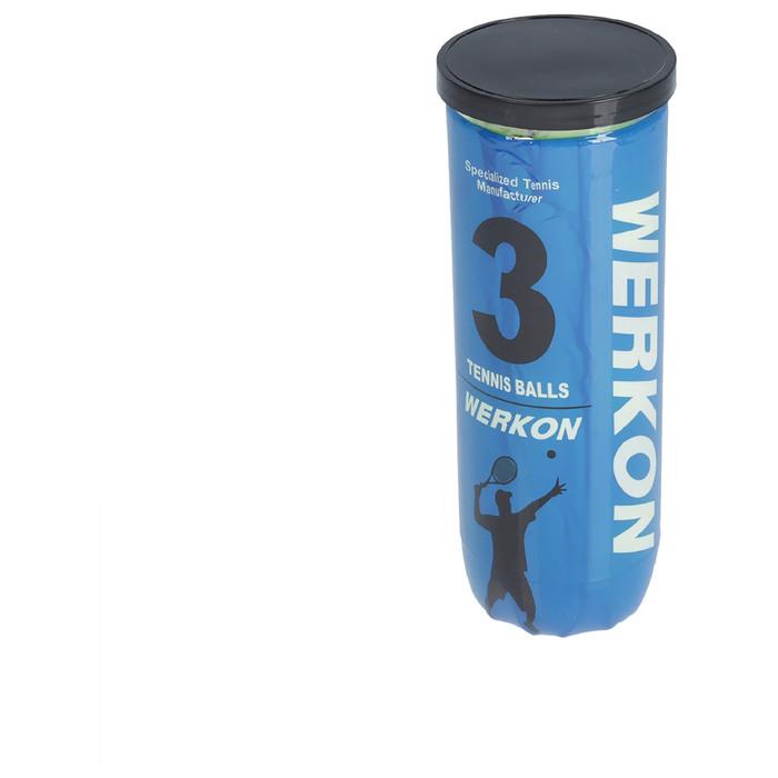 Мяч для большого тенниса WERKON PRO, с давлением (набор 3 шт)