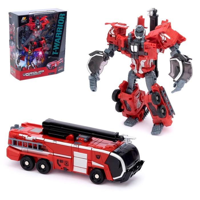 Робот-трансформер «Пожарная машина»