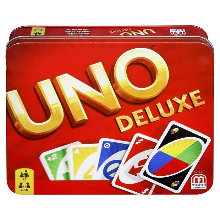 Настольная карточная игра UNO - версия люкс - фото 1729084
