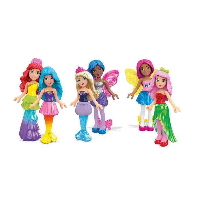 Фигурка персонажей Barbie Mega Bloks, МИКС