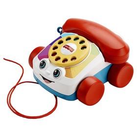 Развивающая игрушка «Говорящий телефон на колёсах» Fisher-Price