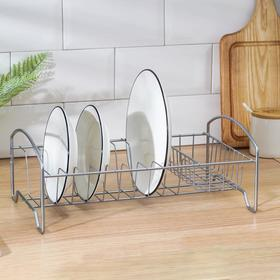 {{photo.Alt || photo.Description || 'Сушилка для посуды «Мини», 35×21×12 см, цвет хром'}}