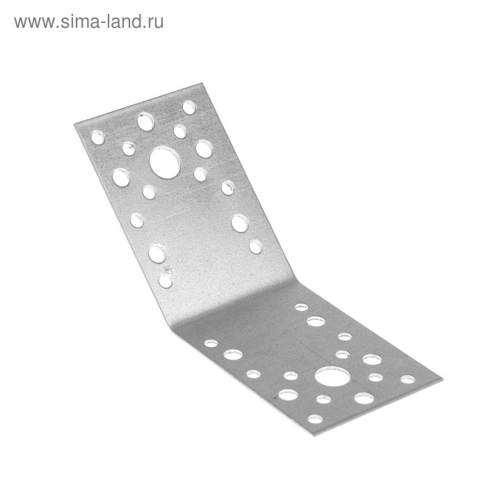 Уголок крепежный под 135° TUNDRA krep, 90х90х65х2 мм