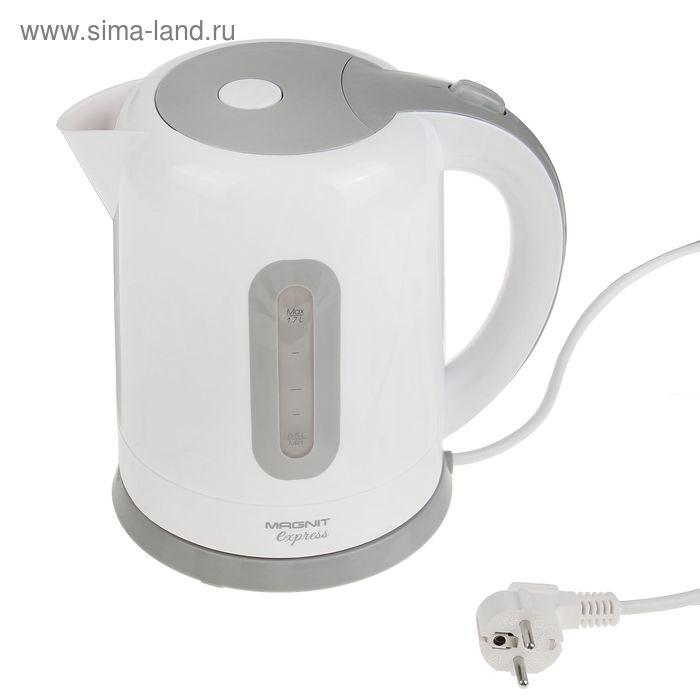 Чайник Magnit RMK-2220, 1.7 л, 2200 Вт, белый