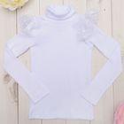 Водолазка для девочки KAFTAN, цвет белый, рост 110-116 (32), 5-6 лет