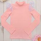 Водолазка детская KAFTAN, цвет розовый, рост 110-116 (32), 5-6 лет