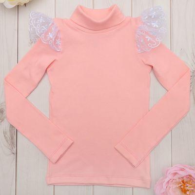 Водолазка для девочки KAFTAN, цвет розовый, рост 122-128 (34), 7-8 лет