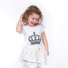 """Футболка детская KAFTAN """"Её величество, дочка"""", рост 86-92 (28), 1,5-2 года"""