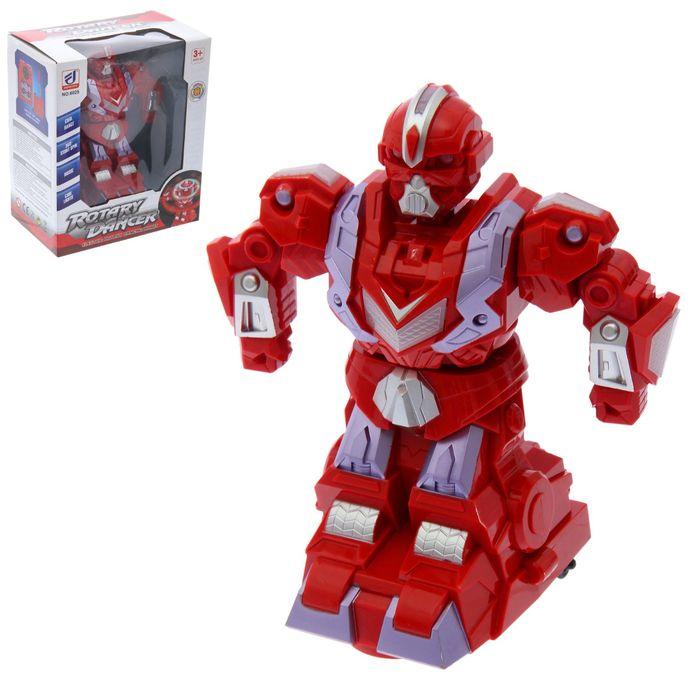 """Робот """"Танцор"""", работает от батареек, световые и звуковые эффекты"""