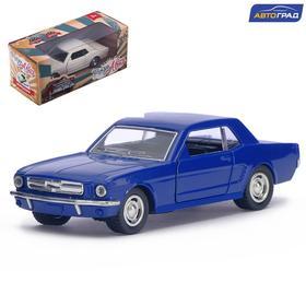 Car metal Mustang inertia, scale 1:32, MIX colors