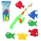 """Рыбалка """"Цветные рыбки"""", 7 предметов"""