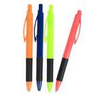 Ручка шариковая авт 0,7мм Vinson корпус МИКС Стиль с резин держ стержень масляный синий