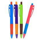 Ручка шариковая автоматическая 0,7 мм Vinson корпус МИКС Смарт, стержень масляный синий
