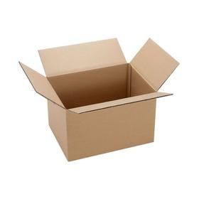 Коробка картонная с ручками 40 х 29,5 х 29 см, С3 Ош