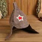 Банная шапка (колпак) Будёновка