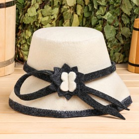 """Hat for baths and saunas """"Ladies"""""""