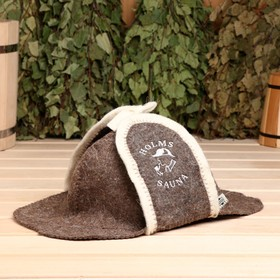 """Hat for baths and saunas """"Holmes"""""""