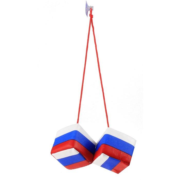 "Присоска ""Кубики Россия"", набор 12 пар"