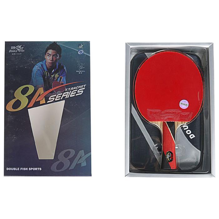 Ракетка для настольного тенниса  с чехлом Double Fish (8A-C серия)