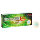 Мячи для настольного тенниса Double Fish 2*, (10 шт/упак.), диаметр 40+