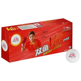 Мячи для настольного тенниса Double Fish, 3 звезды, 10 шт., диаметр 40+