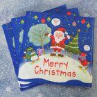 """Салфетки бумажные """"Счастливого Нового Года"""", (набор 20 шт), 33*33 см"""