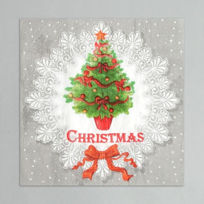 "Napkins ""Christmas Tree"" (set of 20 PCs), 33*33 cm"