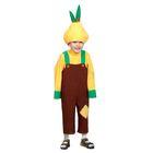 """Карнавальный костюм """"Лук Чиполлино"""", текстиль, рост 98-128 см"""