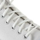 Шнурки для обуви круглые, без наполнителя, d=4мм, 70см, цвет белый