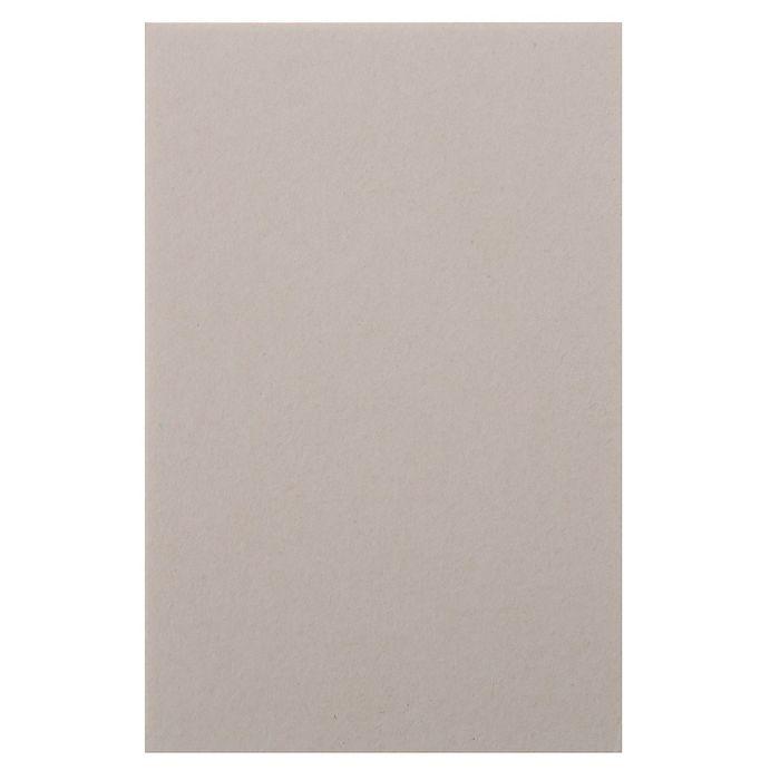 Пивной картон для творчества (набор 10 листов) 10х15 см, толщина 1,2-1,5 мм (белый)