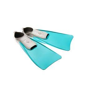 Ласты POOL COLOUR LONG, размер 34-35, M0746 05 2 16W, цвет бирюзовый