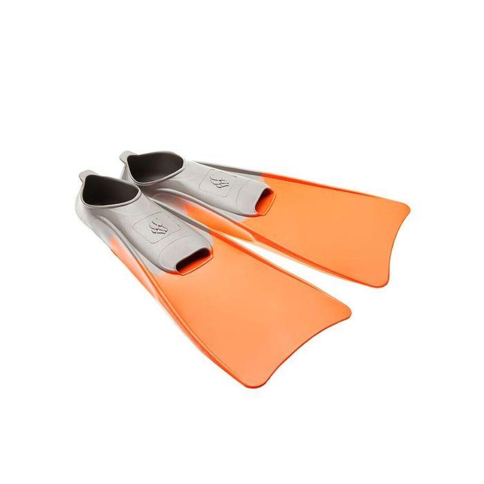 Ласты POOL COLOUR LONG, размер 36-37, цвет оранжевый