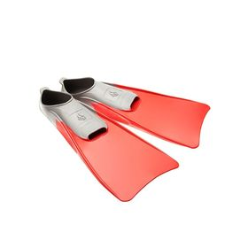 Fins POOL COLOR LONG, size 38-39, color red.