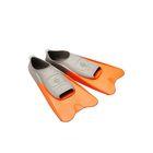 Ласты POOL COLOUR SHORT, размер 36-37, цвет оранжевый