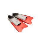 Ласты POOL COLOUR SHORT, размер 38-39, цвет красный