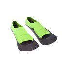 Ласты Fins Training II Rubber, размер 30-32, цвет зелёный/чёрный