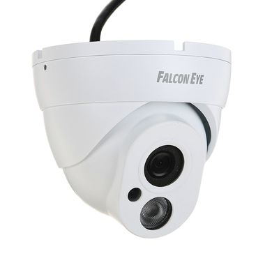 Видеокамера антивандальная Falcon Eye FE-IPC-DL100P, IP, 720P, 1 Мп, PoE