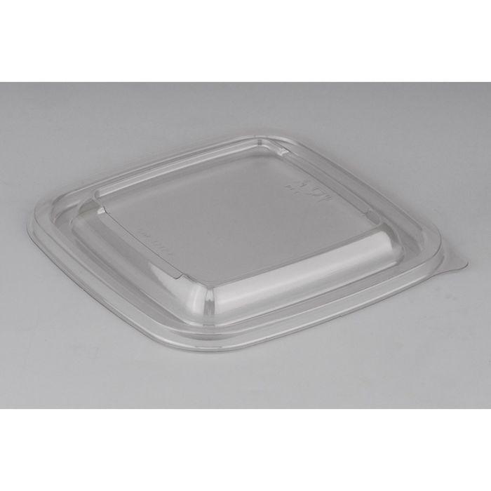 Крышка к контейнеру Сп-1212К, квадратная, 12,6х12,6х1,3 см, прозрачная
