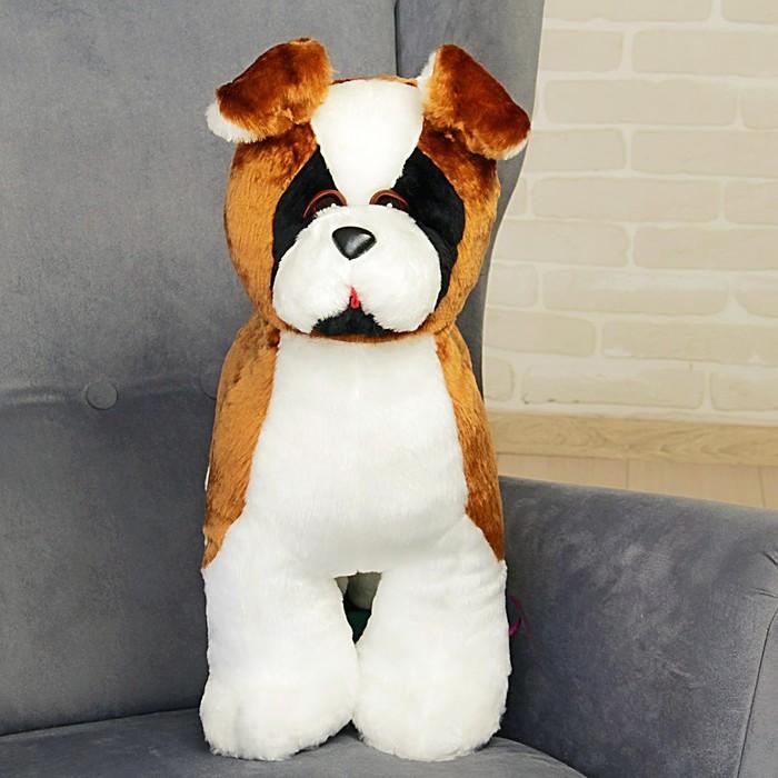 Мягкая игрушка «Собака Боксер», 50 см - фото 725169684