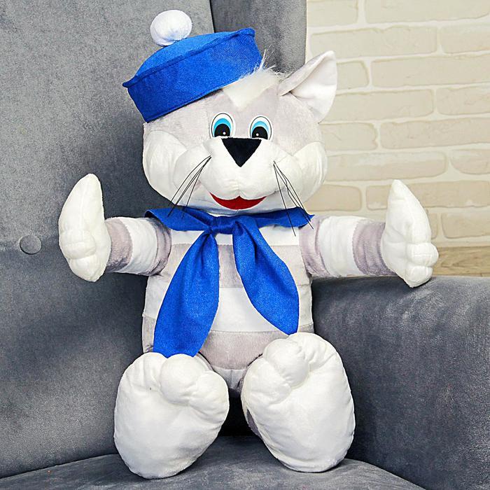 Мягкая игрушка «Кот Боцман» 60 см - фото 797833754