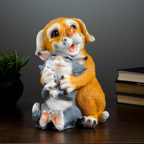 """Копилка """"Кошка с Собакой"""" 17х19х26см"""