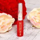 Гель-блестки для волос с щеточкой, 18 гр, цвет красный
